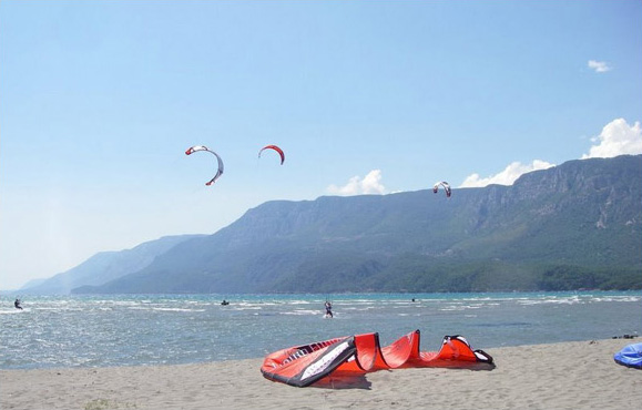 Kiteboarding in Turkey – Gokova Bay