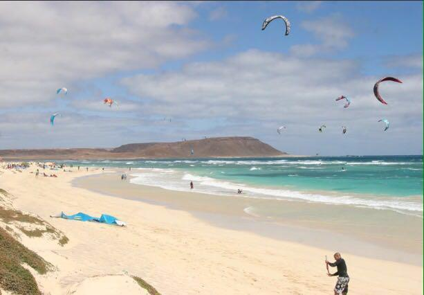 Kiteboarding in Cape Verde - Sal