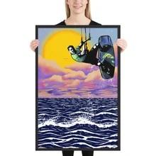 Kitesurfer Painting
