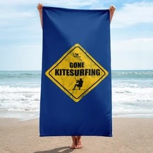 Gone Kitesurfing Towel